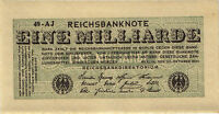 Ro.119a 1 Mrd. Mark 1923 (1) unc