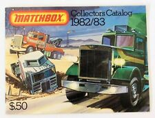 Vintage 1982/83 Matchbox Lesney Collector's Toy Dealer Catalog Booklet