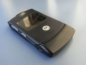 Motorola  RAZR V3 - Schwarz (Ohne Simlock) KlappHandy