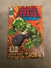 THE SAVAGE DRAGON #1 EXTREMELY RARE NEWSSTAND VARIANT!!!