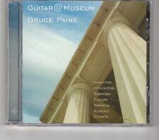 (HK544) Guitar At Museum, Bruce Paine - 2005 CD