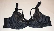 Dita Von Teese Ladies Madame X Black Underwire Bra Size 10A 32A Y58945 Cut Tag