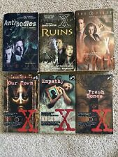 The X Files Book Lot - 6 Paperbacks Vintage Science Fiction Harper Trophy Books