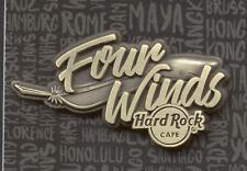 Hard Rock Cafe Four Winds Destination Name Series Pin