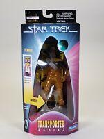 "1998 Playmates Star Trek Transporter Series Lieutenant Wolf Action Figure 5"""