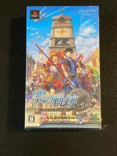 Eiyuu Densetsu: Sora no Kiseki Set Falcom Sony Playstation PSP Japan Import NEW