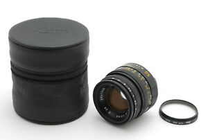 【MINT+++】LEICA SUMMICRON-M 50mm f/2 E39 4th Lens From JAPAN