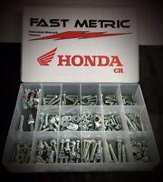 340pc HONDA BOLT KIT CR60 CR80 CR85 CR125R CR250R CR500