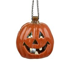 Heaven Sends Halloween in ceramica zucca LED Decorazione Da Appendere Nuovo