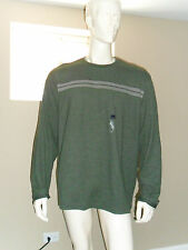 Men's Arrow Long Sleeve Doubler Crew-Neck Shirt Heather Green 3XL New with tag