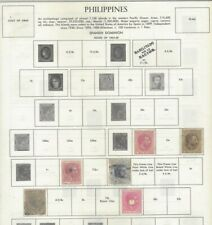 Philippines 1864-1973 collection (550 stamps)