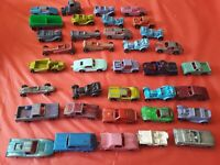 Lot of 34 RARE Vintage Tootsie Toys Truck Hot Rod Tanker Tow Truck Sports #139