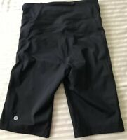 "LULULEMON Pace Short HR 10"" Women's Shorts Black Size 6 NWOT"