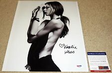 Karlie Kloss Signed 11x14 Victoria's Secret Supermodel PSA/DNA