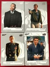 2019 Upper Deck James Bond Base Set  & Base SP Set Numbers 1-150