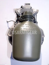 NEW Made in USA Military Army 1 QT 1 L Plastic OD Green Canteen USGI