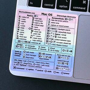 Synerlogic Mac OS (PRIDE VINYL) Reference Guide Shortcut sticker (M1 or Intel)