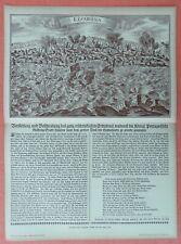 Erdbeben von Lissabon Flugblatt 1755   DRUCK von 1903 Faksimile Lisboa Portugal