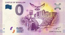 Billet Touristique 0 Euro - Castle of Bouillon - 2019-2