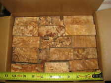 BOX PACKED FULL BIG LEAF MAPLE BURL CRAFT WOOD, DRY, GREAT FOR SMALL PROJECTS