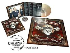 Nitrogods-Conseil & Rumours (Clear) VINYL LP + CD NEUF