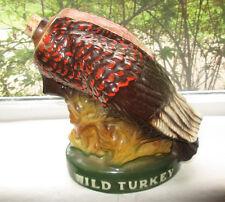 Vtg Austin Nichols Wild Turkey Liquor Decanter No 7 Lted Edition Ceramic No Head