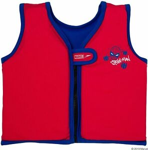 SPEEDO MARVEL SPIDERMAN SWIMMING FLOAT VEST FOR KIDS AGES 1 TO 6 YEARS OLD