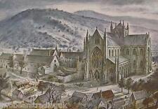 Postcard: Tintern Abbey, Monmouthshire by Alan Sorrell (1971)