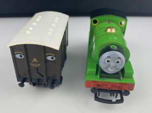 Hornby 00 Gauge Percy 0-4-0 Locomotive + 1 Troublesome Truck Untested
