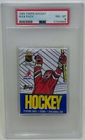 1989 TOPPS Hockey Factory Sealed WAX Card PACK NHL PSA Graded 8 Leetch Sakic