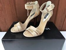 DOLCE & GABBANA HIGH STILETTO HEEL SANDALS SHOES  SIZE  UK3/ EU 36 / US 5,BEIGE