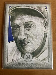2019 Topps Museum Collection Canvas CC38 Honus Wagner Pirates