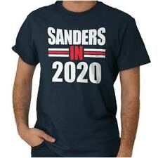 President Bernie Sanders In 2020 Election Adult Short Sleeve Crewneck Tee