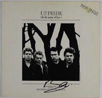 U2 Bono JSA Signed Autograph Record Vinyl Album Pride In The Name of Love