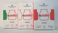 Italie 3 x 5 euro 2021 NUTELLA ® by Ferrero