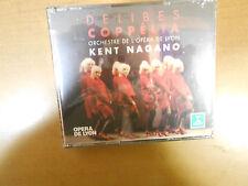 DELIBES COPPELIA DOUBLE CD, KENT NAGANO COND., ERATO D 200866, NEW