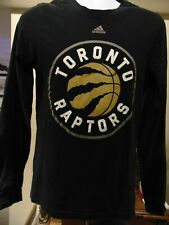 Nba Toronto Raptors Adidas Men/Youth Nba Black Rugby style Long Sleeve T-Shirt S
