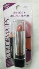 COLORMATES Lipstick & Lipliner Pencil Au Natural 62622 Paraben Free 0.13 oz