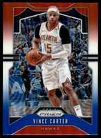 2019-20 Prizm Red White Blue Rwb Refractor Vince Carter Atlanta Hawks #33