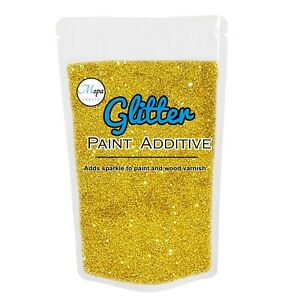 Gold Glitter For Wall Paint Grout  Additive emulsion Bedroom Kitchen