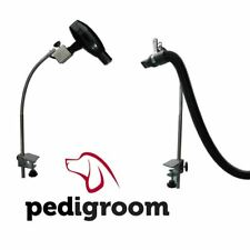 Dog Grooming Clamp Arm Hose Attachment by Pedigroom Pet Dryer Holder Third