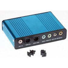 External Sound Card USB 6 Channel 5.1 Audio S/Pdif PC Netbook Laptop UKS/PDIF -
