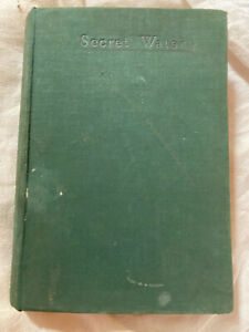 Secret Water Arthur Ransome 1939 Hardcover Book 1st Edition