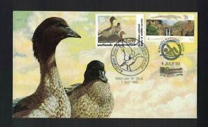 MAFD206) Australia 1993 Wetlands Conservation - Australian Wood Duck cover
