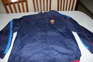 Rain of The F.C Barcelona Brand Club Size XL Model Scarce And Cotizado