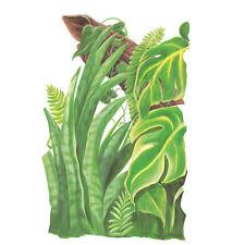 Tatouage Jungle Greenery #1 Dry rub Transfer