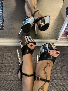 Pleaser Platform Stiletto Heels 8