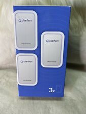 Clarifion Ionic Air Purifier Filterless Negative Ion Generator New (3 Pack)