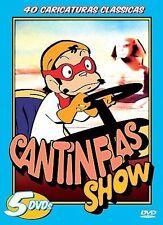 CANTINFLAS SHOW, 40 Caricaturas Classicas, SEGUNDO VOLUMEN (DVD 2005 5-Disc set)
