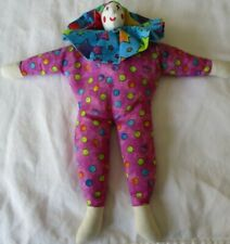 Handmade Jester Doll Soft Sculpture Signed Kelly Hewitt 2006 The Dollmakers
